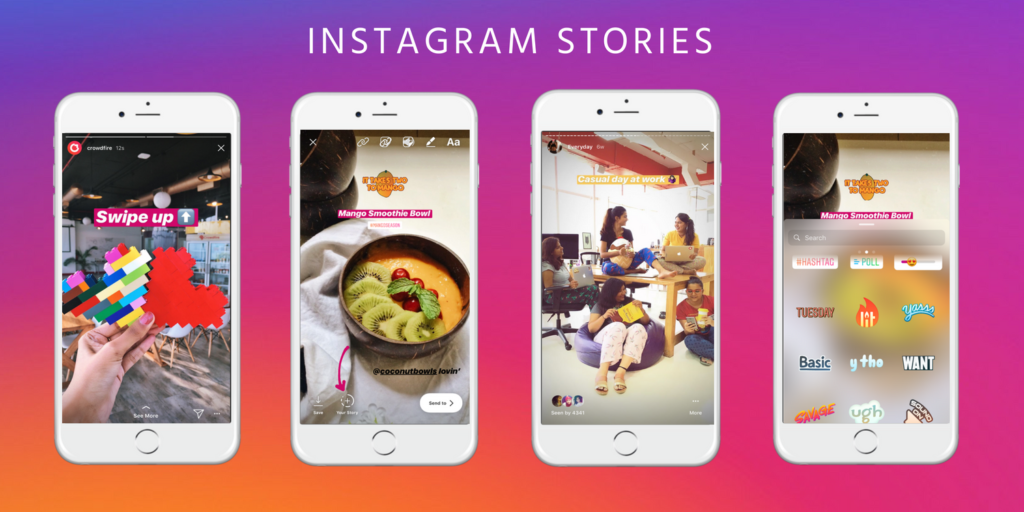 Instagram Stories Usage for Holiday Marketing