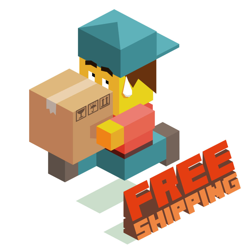 free shipping vector for online holiday marketing article
